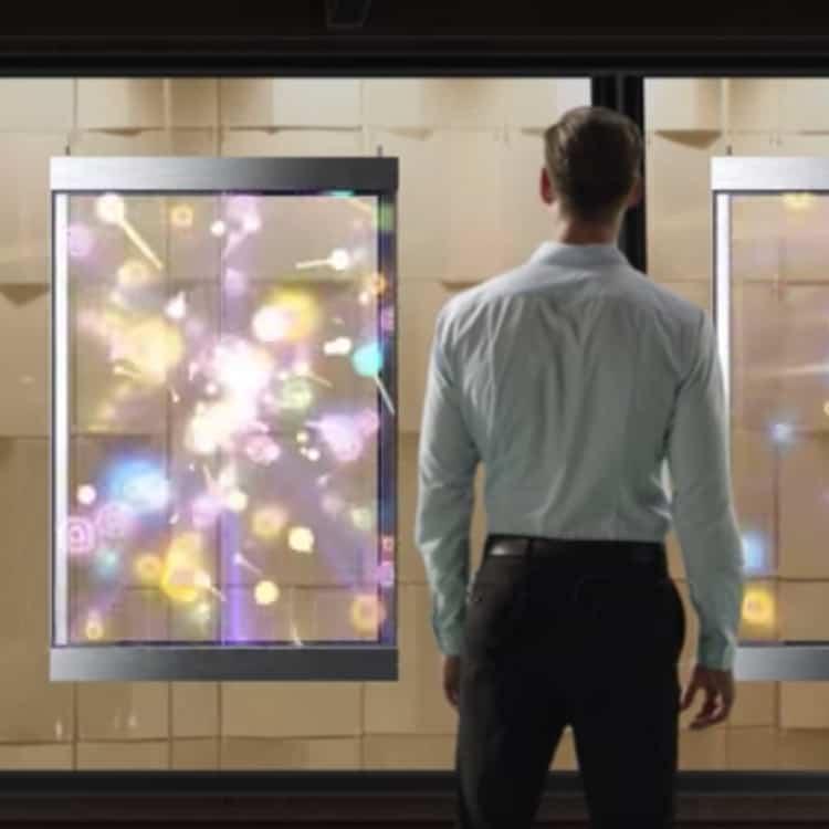 Glasswall per vetrina negozio