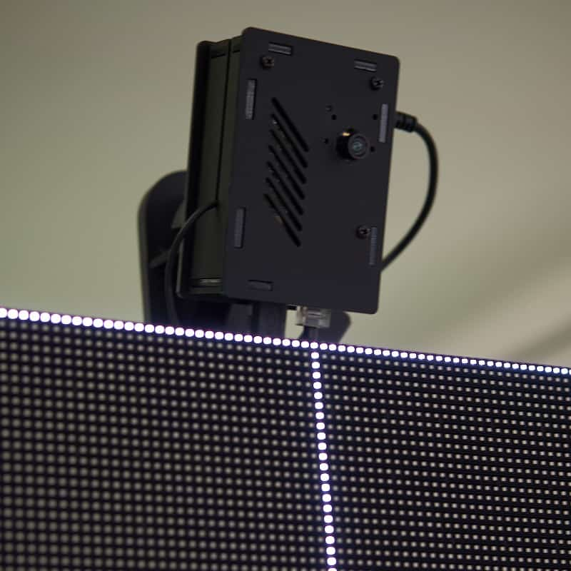 Sensore biometrico per il riconoscimento facciale