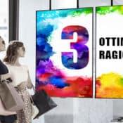 Monitor da Vetrina: 3 Ragioni per Installarlo in Negozio