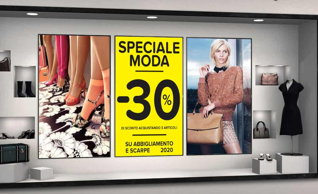 Come scegliere il monitor da vetrina per il tuo negozio