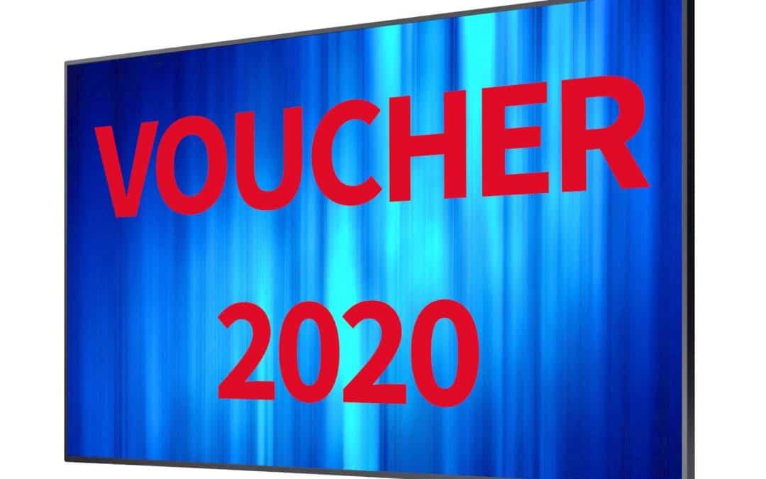 Sfrutta il Voucher per i Monitor da Vetrina 2020