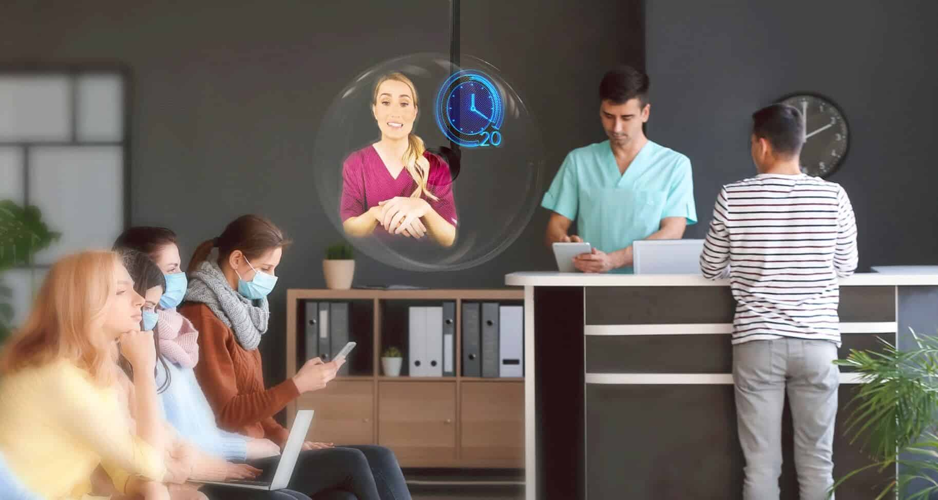 HYPERVSN Holographic Human per il Digital Signage
