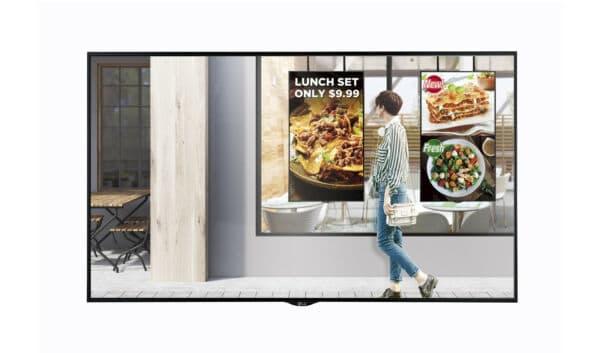 Monitor da Vetrina nel Retail