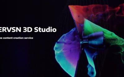 Creare ologrammi: 3D Studio HYPERVSN content tool