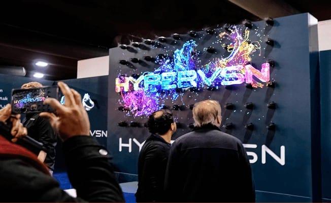 Allestire un evento con HYPERVSN