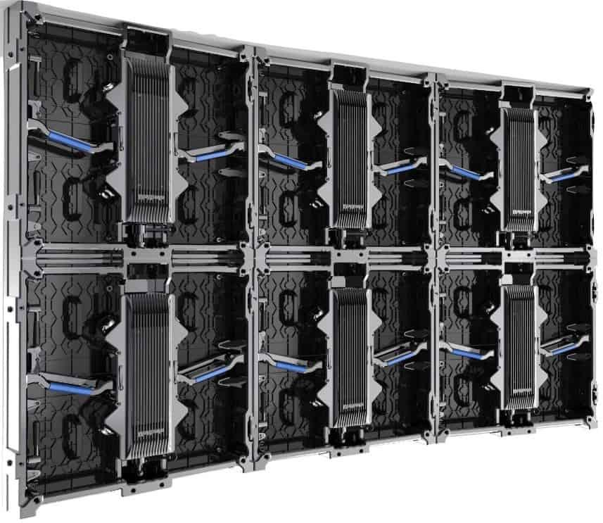 Ledwall modulari: divisione dell'immagine