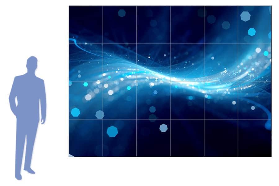 Immagine e luminosità dei monitor da vetrina professionali
